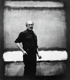 Mark Rothko portrait in his studio. - Mark Rothko portrait in his studio. Mark Rothko Paintings, Rothko Art, Art Paintings, Painting Art, Abstract Painters, Abstract Art, Abstract Nature, Art Abstrait, Art Moderne