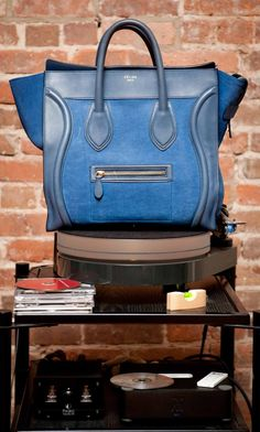 Seriously coveting this denim Céline. http://www.thecoveteur.com/jessica_sailer