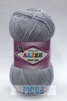 Poze Fir de tricotat sau crosetat - Fir ALIZE COTTON GOLD GRI 21 21st, Fire, Cotton, Gold, Tricot