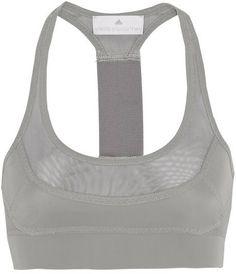 55eb01e423 adidas by Stella McCartney Run Climalite® mesh-paneled sports bra on  shopstyle.com