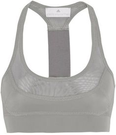 adidas by Stella McCartney Run Climalite® mesh-paneled sports bra on shopstyle.com