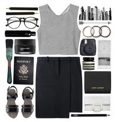 """bad habit // the kooks"" by cmp157 ❤ liked on Polyvore featuring moda, Acne Studios, Monki, INDIE HAIR, H&M, Koh Gen Do, NARS Cosmetics, Maison Margiela, Yves Saint Laurent e Passport"