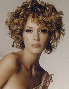 curly grey hairstyles - Google Search