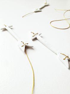 porcelain arrows | White Atelier BCN