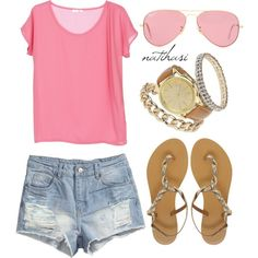 """Summer Outfit"" by natihasi on Polyvore"