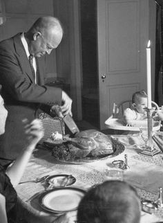 Dwight D. Eisenhower Thanksgiving