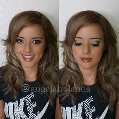Had the honor of doing @stephlopez87 hair and makeup for her engagement shoot this past weekend! ❤️❤️❤️ #NOFILTER.  Face: @maccosmetics Studio Fix Fluid and set with BenNye Banana Powder also used @anastasiabeverlyhills contour kit. EYES: @maccosmetics Nordstrom Exclusive MAC palette and @anastasiabeverlyhills Tamanna Palette (I swear Noir is the blackest BLACK I HAVE EVER USED IN MY LIFE!!) BROWS: @anastasiabeverlyhills brow wiz and brow powder palette. LIPS: Makeup Forever 7C and 3C lip…