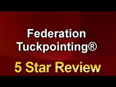 Federation Tuckpointing® Amazing Five Star Review by Alan Oliver Rising Damp, Load Bearing Wall, Blog Categories, Great Team, Five Star, Working Area, How To Remove, Social Media, Stars
