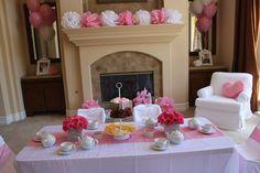 "Photo 2 of 47: Fairy Princess Tea Party / Birthday ""Cinderella Tea Party"" | Catch My Party"