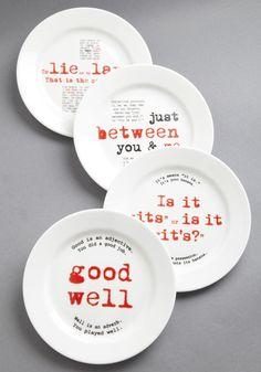 Grammar Plates