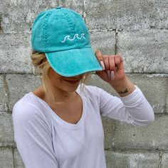 Our new Beach Waves Hat just went live!!