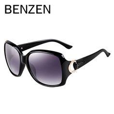 BENZEN Sunglasses Women Polarized  Designer Sunglasses for Women Female Sun Glasses Oculos De Sol Feminino Shades With Case 6007