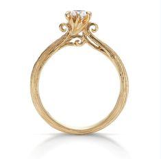 枝葉を伸ばす樹木のように、ふたりの未来が健やかに伸び広がっていきますように…。Novello. An engagement ring designed with burgeon.