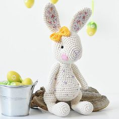 Candy bunny by lilleliis - Free Pattern