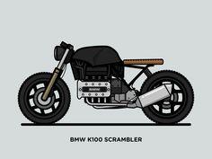 """Résultat de recherche d'images pour """"BMW K100"""""""