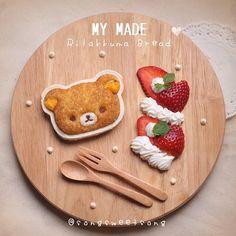 Rilakkuma bread♡