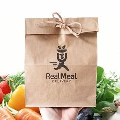 Real Meal Delivery Brand identity project I created last year. It is a logo for…