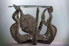 amazing Bronze Octopus