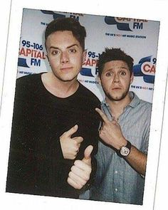 Niall with Roman Kemp