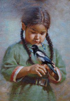 Beautiful Native American art Native Child, Native American Children, Native American Beauty, American Spirit, American Indian Art, Native American Tribes, Native American History, American Girl, Native American Paintings