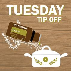 Use 1–2 drops in meat and entrée dishes to add a fresh herbal flavour. How do you use Thyme essential oil?