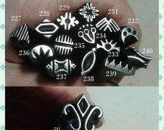 Jewelry stamp, Handmade Metal Stamps, jewelry making tools, metal stamping, leather stamp, ink stamp, metal punch, original, craft tool
