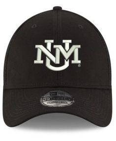 8f0116bf9ecee New Era New Mexico Lobos Black White Neo 39THIRTY Cap - Black L XL