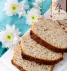 """How many times has someone spotted excess, overripe or just unused bananas in your kitchen and said, """"uh-oh, looks like it's time to make banana bread! Real Food Recipes, Snack Recipes, Yummy Food, Bread Recipes, Dip Recipes, Egg Noodle Side Dish, Oven Fried Pickles, 4 Ingredient Recipes, Easy Food To Make"""