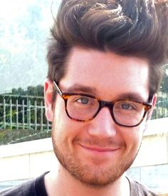 Dan Smith - Bastille. Beautiful talented boy with a gorgeous voice. Omg, that smile.