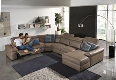 Vigo is a unique shaped sofa that is ideal to use whilst entertaining family and friends. Available in many configurations from IQ Furniture.