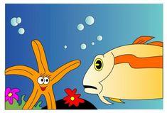 """immagine tratta dalla fiaba """"UNA STELLA MARINA IN CIELO """"di #alberto_albus_bustreo  #tempodilibri #fiabe #fiaba #googleplay #googlelibri #bookgoogle #stellamarina #favola #albertoalbusbustreo"""