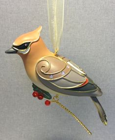 The Beauty of Birds - Cedar Waxing - 9th - Hallmark - 2013