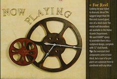 clock film reel