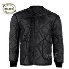 Jacket Liner Mil-Tec M-65 black