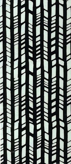 Design inspired by bamboo shoots. A pattern with the layering of the thick vertical lines. Graphic Patterns, Textile Patterns, Textile Prints, Cool Patterns, Print Patterns, Surface Pattern Design, Pattern Art, Motif Design, Stripe Pattern