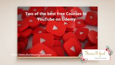 To be a youtube content maker, you must learn an important tool, to make also money with YouTube. I give you two of the best free courses, that helped me in my YouTube Channel. Family Counselor, Free Courses, You Must, Channel, Content, Good Things, Money, Learning, Youtube