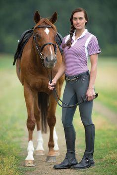 Pro Stripe Polo Shirt & Microcord™ Fullseat
