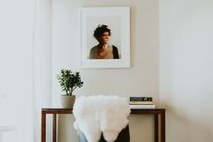 """The Beginning"" by Kai Samuels-Davis in our Irvine frame."