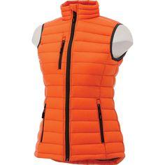 Elevate Women's Orange Whistler Light Down Vest