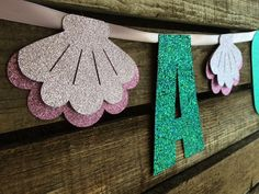 It's A Girl Banner Mermaid Party Birthday Party First