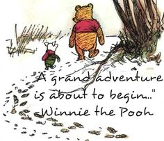 """""""A grand journey is about to begin"""" tickles me, because Bon says to the children (just as he steals them away) -- """"Now begins the adventure of your lives."""" And then Nypha shows up and blows it all to bits."""