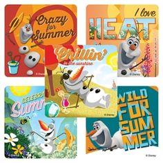 Disney Frozen Olaf Summer Value Stickers (5)