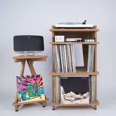 Line Phono Sonos Speaker Stand + Turntable Stand