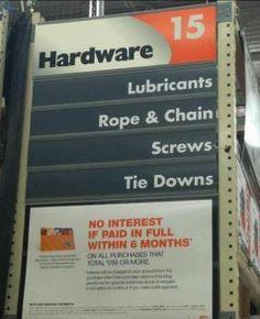 Party on Aisle 15