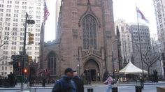 Trinity Church New York | It was the highest point in New York City until 1890. Now I believe it ..