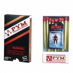 Hasbro's Ant-Man Action Figures Include The Tiniest Action Figure Ever -  #antman #hasbro #marvel