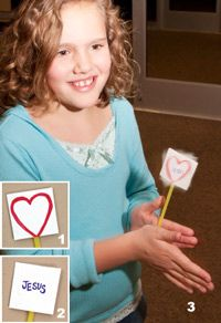 From the heart object lesson