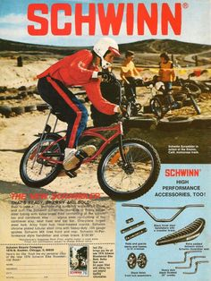 Schwinn Bicycle Co, 1976 - Vintage Ads!