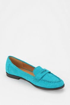 Cooperative Sloane Suede Loafer  #UrbanOutfitters  <3 color!