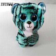 (YNYNOO) Ty Vaias Gorro Crianças Brinquedos De Pelúcia Grandes Olhos Leona  Leopardo Azul Encantadores 8efa6426aa3